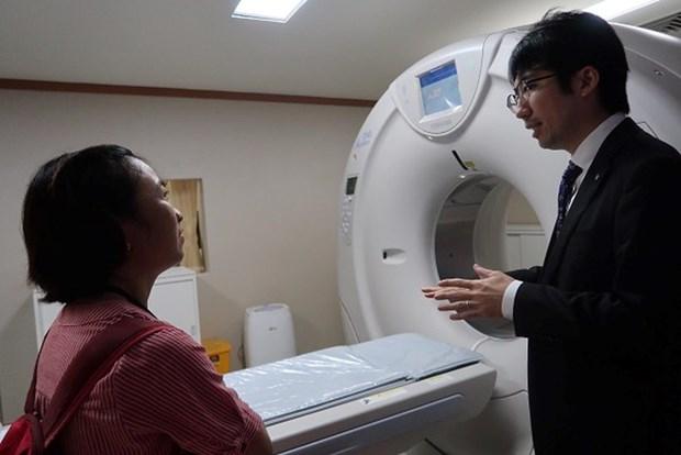 Mise en service d'un centre sanitaire finance par le Japon hinh anh 1