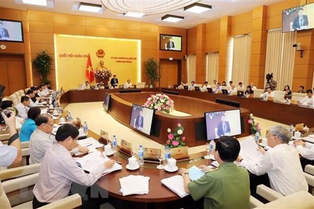 Ouverture de la 28e session du Comite permanent de l'Assemblee nationale hinh anh 1