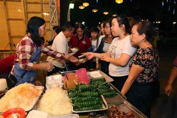 Pres de 70.000 visiteurs a la fete de la gastronomie de Hanoi hinh anh 1