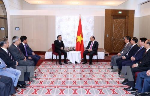 Le Premier ministre fait grand cas de la solidarite entre les Vietnamiens en Europe hinh anh 1