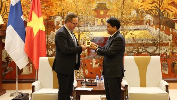 Hanoi accueille a bras ouvert les entreprises finlandaises hinh anh 1