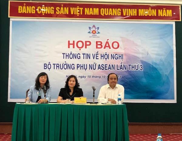 Hanoi accueillera la 3e conference des ministres de la Femme de l'ASEAN hinh anh 1