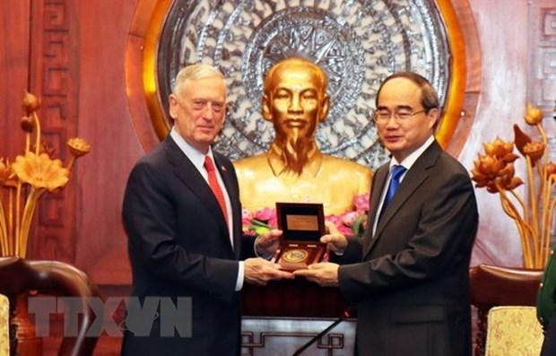Le Vietnam considere les Etats-Unis comme un partenaire important hinh anh 1