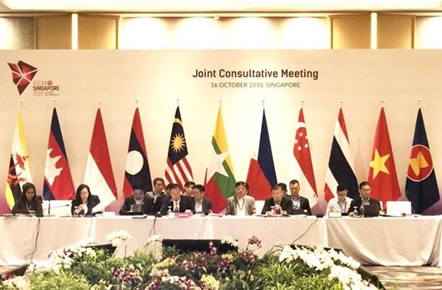 Conference consultative commune pour preparer le 33e Sommet de l'ASEAN hinh anh 1