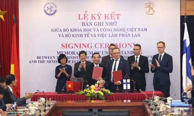 Vietnam et Finlande renforcent leur cooperation dans les sciences, technologies et l'innovation hinh anh 1
