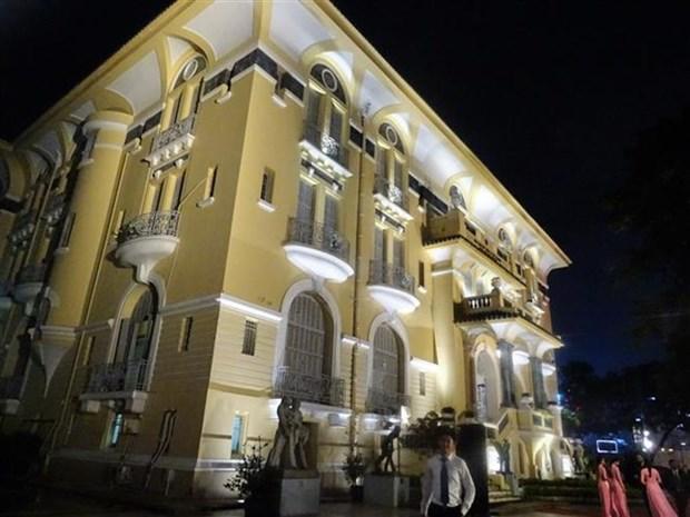 Illumination du Musee de Beaux-arts de Ho Chi Minh-Ville hinh anh 1