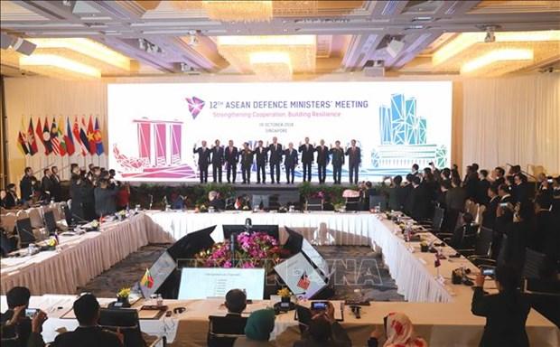 ADMM : Vietnam souligne la solidarite et le role central de l'ASEAN hinh anh 1