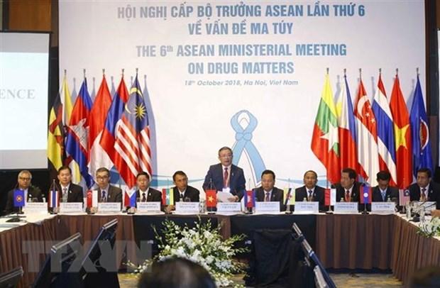 Les pays de l'ASEAN persistent a construire une communaute sans drogue hinh anh 1