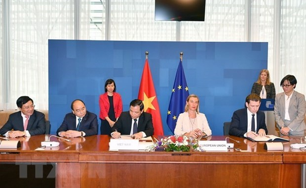 Sylviculture : Vietnam et Union europeenne signent le VPA/FLEGT hinh anh 1