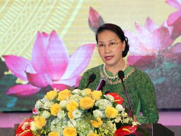 Celebration des 60 ans de la visite du President Ho Chi Minh a Bac Ninh hinh anh 1