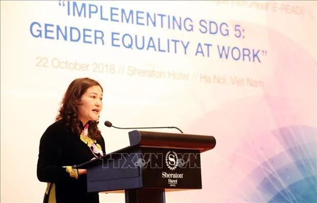 Dialogue ASEAN-UE sur l'egalite des sexes, l'autonomisation des femmes et filles hinh anh 1