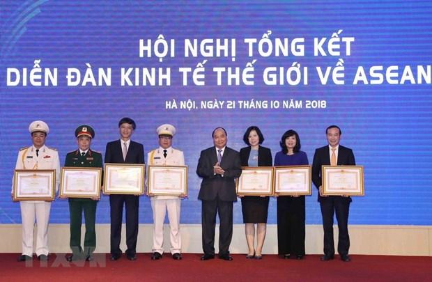 Mettre en œuvre des initiatives du Vietnam au WEF ASEAN 2018 au service du developpement hinh anh 1