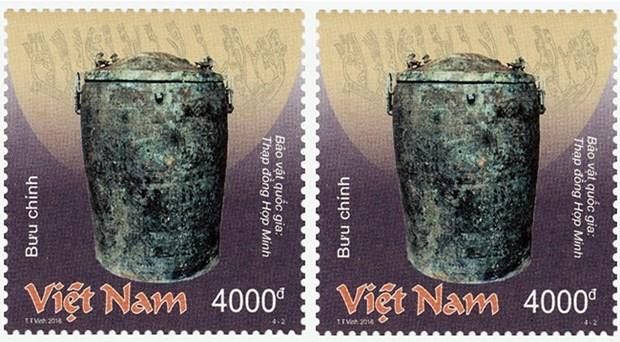 Emission d'une collection de timbres sur les tresors nationaux en bronze hinh anh 1