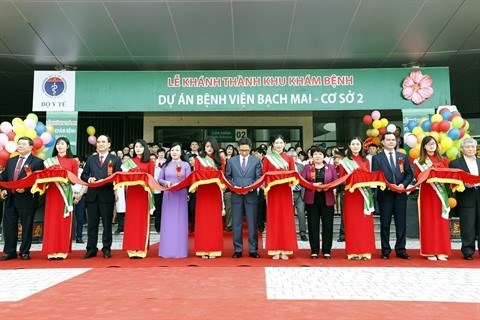 Inauguration des succursales des hopitaux Bach Mai et Viet Duc a Ha Nam hinh anh 1