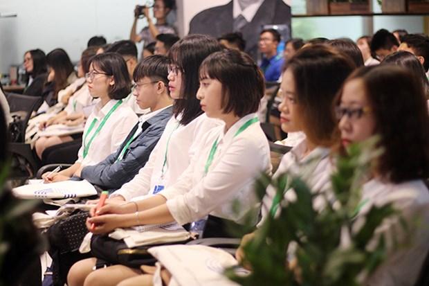 Une centaine d'etudiants participent au projet « Parlement des jeunes vietnamiens » hinh anh 1