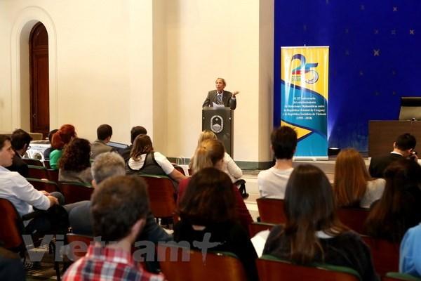 Vietnam et Uruguay promeuvent la cooperation dans le commerce et l'investissement hinh anh 1