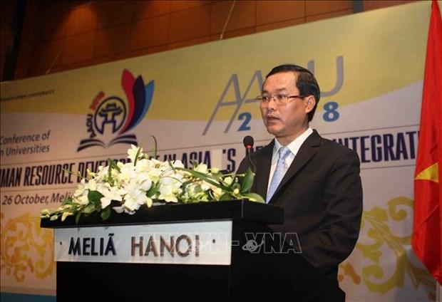 Le role de l'education ouverte dans le developpement des ressources humaines en Asie hinh anh 2