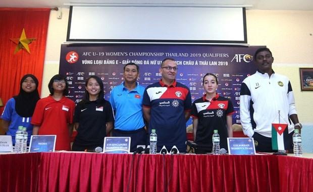 Football: l'equipe feminine du Vietnam determinee a passer la premiere phase du Championnat d'Asie hinh anh 1