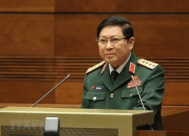 Le ministre de la Defense Ngo Xuan Lich participe au forum Xiang Shan a Pekin hinh anh 1
