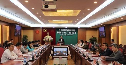 La Commission du controle du Comite central du Parti tient sa 30e reunion hinh anh 1