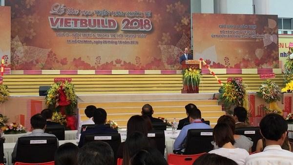 Ouverture de l'exposition internationale Vietbuild 2018 hinh anh 1