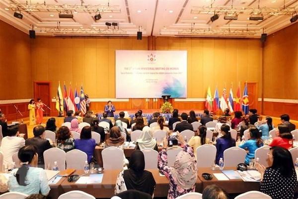 Promotion du bien-etre social pour les femmes et filles vers la vision de l'ASEAN 2025 hinh anh 1