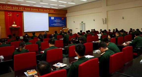 Formation sur le droit international humanitaire a des casques bleus vietnamiens hinh anh 1
