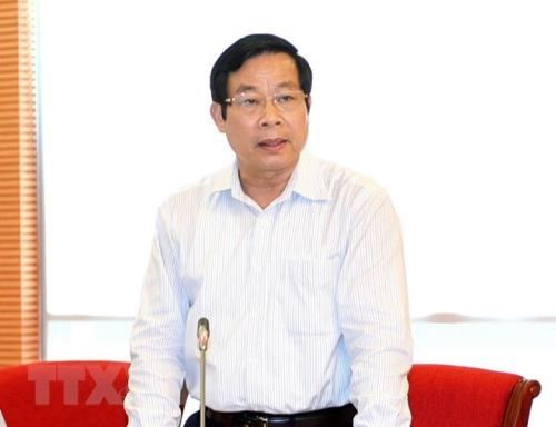 Des mesures disciplinaires a l'encontre de l'ancien ministre de l'Information et de la Communication hinh anh 1