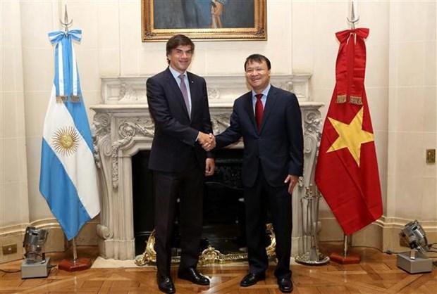 Le Vietnam et l'Argentine intensifient leur cooperation economique et commerciale hinh anh 1