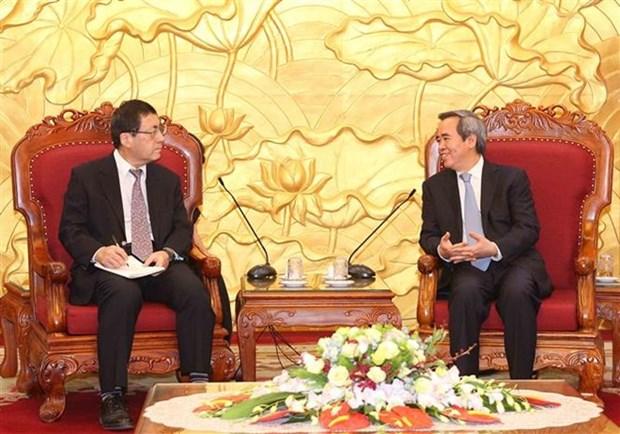 Le Japon peut cooperer avec le Vietnam dans l'amelioration de la productivite du travail hinh anh 1