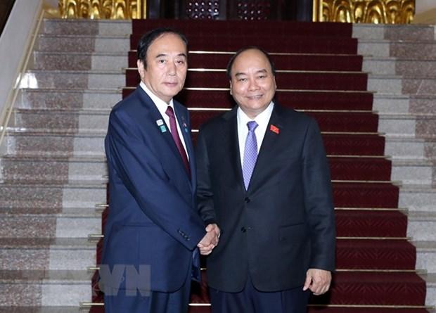 Le Premier ministre recoit le gouverneur de la prefecture japonaise de Saitama hinh anh 1
