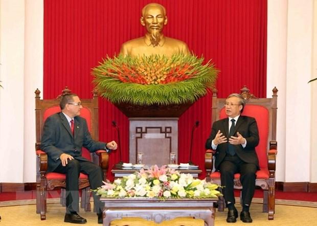 Le Vietnam soutient le processus democratique au Venezuela hinh anh 1