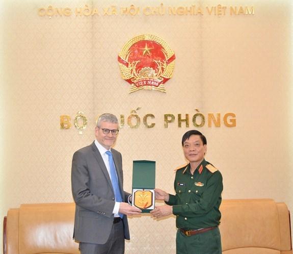 Vietnam-Nouvelle-Zelande : renforcement de leur cooperation dans la defense hinh anh 1