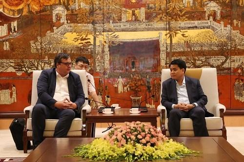 Hanoi deroule le tapis rouge aux investisseurs allemands hinh anh 1