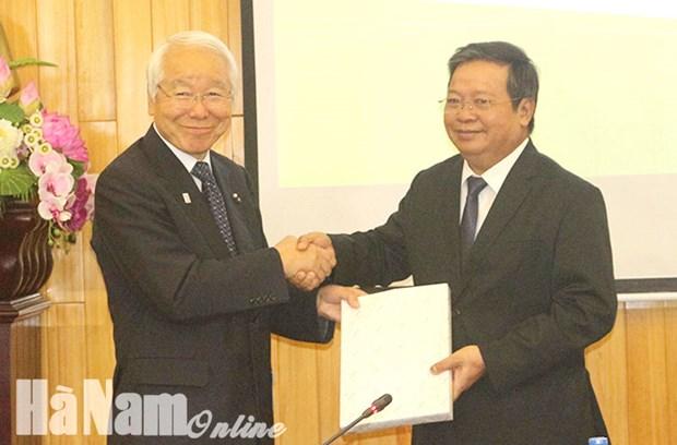 Ha Nam et Hyogo (Japon) boostent leur cooperation hinh anh 1