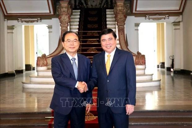 Ho Chi Minh-Ville et Busan veulent renforcer leurs liens hinh anh 1