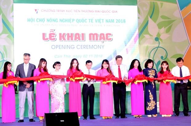 Ouverture de la foire internationale de l'agriculture du Vietnam a Can Tho hinh anh 1