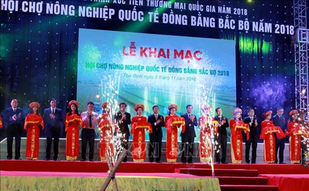 Ouverture du salon international de l'agriculture du delta du Nord 2018 hinh anh 1