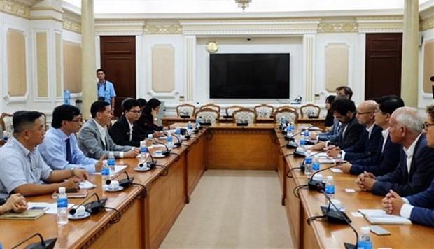 Gestion de l'eau: Ho Chi Minh-Ville coopere avec des entreprises neerlandaises hinh anh 1