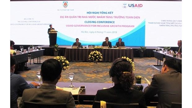L'USAID acheve son programme de gouvernance pour une croissance inclusive au Vietnam hinh anh 1