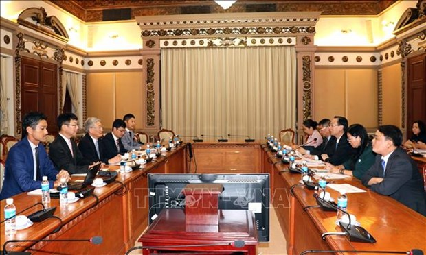 Mitsubishi veut construire des usines de transformation des dechets en electricite a HCM-Ville hinh anh 1