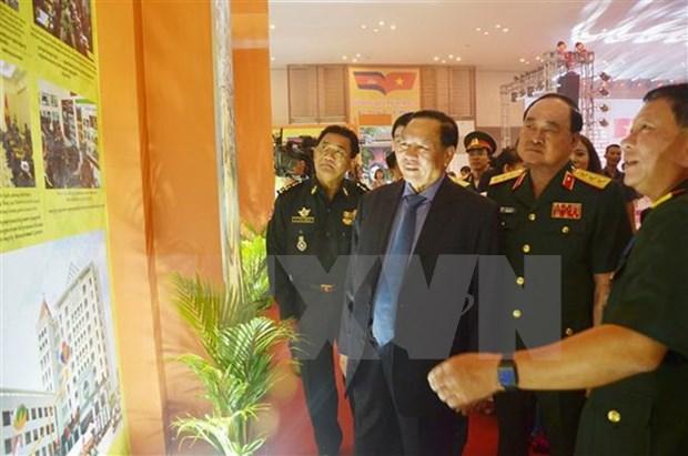 Foire du commerce du Vietnam 2018 au Cambodge hinh anh 1