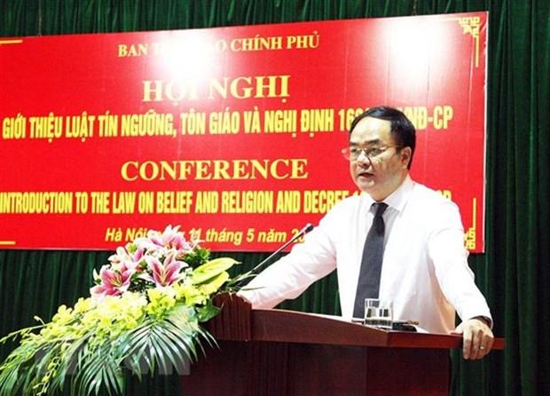Le Vietnam et la Russie partagent leurs experiences sur la gestion de la religion par l'Etat hinh anh 1