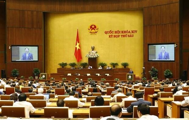 L'AN va voter pour approbation une resolution et discuter de deux projets de loi aujourd'hui hinh anh 1