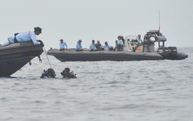 Crash d'avion en Indonesie : les recherches de corps des victimes devraient durer 3 jours en plus hinh anh 1