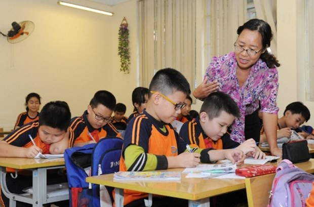 Affection des enseignants destinee aux eleves malvoyants hinh anh 1
