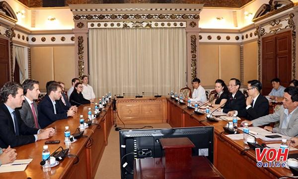 La societe americaine 8VC cherche des opportunites d'investissement a Ho Chi Minh-Ville hinh anh 1