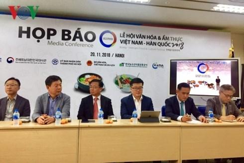Bientot le Festival culturel et gastronomique Vietnam-R. de Coree a Hanoi hinh anh 1