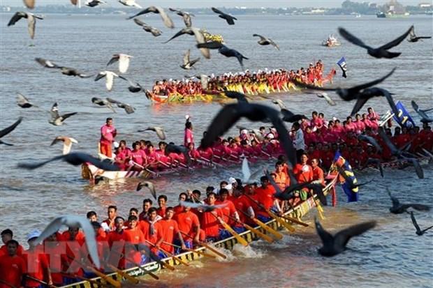 Le Cambodge celebre son plus grand festival de l'annee hinh anh 1