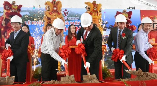 Ben Tre : Inauguration de l'usine de la noix de coco fraiche de 200 milliards de dongs hinh anh 1